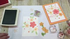 How to make a gorgeous Floral Card using Botanical Blooms
