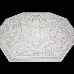 Marrakesh Mandala - My Moroccan Style Plaster Ceiling Rose, Free Park, Lounge Ideas, West London, Marrakesh, Moroccan Style, Wall Tiles, Mandala