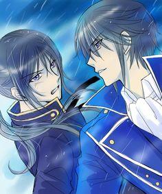 K Anime, posted by Blue Aura, Seven Knight, Return Of Kings, Black Butler, Neko, Manga Anime, Kiss, Fan Art, Seasons
