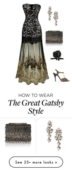 """The Great Gatsby's night"" by cristina-barberis on Polyvore featuring Gatsby, BaubleBar and Accessorize"
