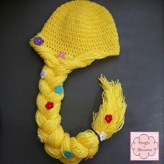 Rapunzel Crochet Beanie / hat