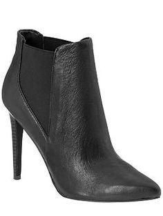 Black booties.  Versatile.