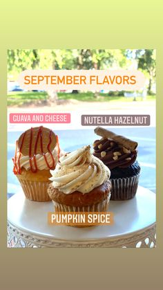 Custom Cupcakes, Cupcake Toppers, Pumpkin Spice, Nutella, Muffin, Spices, Cheese, Breakfast, Desserts