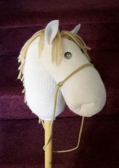 Sock Hobby-horse Unicorn Pattern Design Tutorial How-to Email PDF File Make Your…