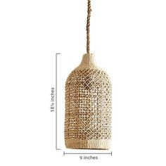 The Roost Abaca Woven Pendant is a beautiful, light piece which can add a touch of rustic sophistication to any decor. This elegant piece has a flexible fiber and is very durable Rattan, Zen, Home Decor Online, Modern Lighting, Contemporary Furniture, Pendants, Ceiling Lights, Rustic, Bamboo