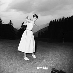 "Audrey Hepburn would have been 87 today! We suggest celebrating with a marathon of her classic movies, ""Breakfast Ball at Tiffany's,"" ""My Fairway Lady"" and ""Roman Golf Holiday."" I Rock Bottom Golf #rockbottomgolf"