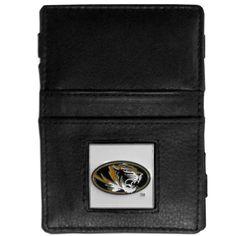 Missouri Tigers Leather Jacob's Ladder Wallet CJL67