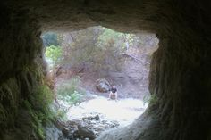 a secret park filled with waterfalls in caves near belton texas