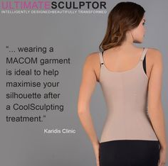 Karidis Clinic loves our ULTIMATESCULPTOR. See why on their blog: goo.gl/QqeU7Y #madebyMACOM #ULTIMATESCULPTOR #Karidis #KaridisClinic #CoolSculpting #results #treatment #beauty #betterresult #theyloveit #compressiongarments