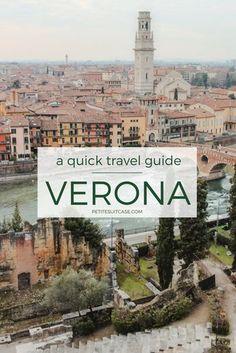 Travel Guide to Verona | Italy Travel | #italy #verona