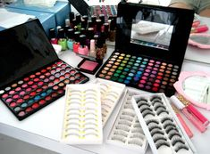 88 color palette & the set of lashes, is what I have. Love 'em.