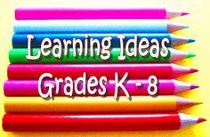 Free, Fun Worksheets and Centers - Math, Science, ELA, Grades PreK - Gr. 8, Test Preparation