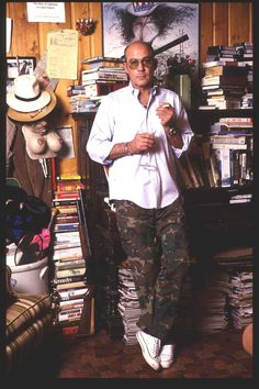 Hunter S. Thompson in 1992