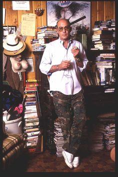 Hunter S. Thompson in 1992