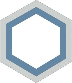 H20M032   format 20 cm #Carreauxciment #Carrelage #Hexagones