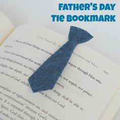 Preschool Crafts for Kids*: Father's Day Necktie Bookmark Craft