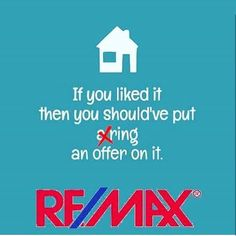 Isn't that the truth? Don't be left with regret when someone else pulls the trigger on your dream house. Call us today! 🏡  #ferris #ferrisrealtygroup #remax #realestate #realtor #realtorlife #agent #family #nebraska #thegoodlife #forsale #sale #house #home #dreamhome #team #dreamteam #sold #beyonce #luxury #beautiful #realestate #lovemyjob #wednesday #mood #renovation #new #love #justdoit #localrealtors - posted by Ferris Realty Group https://www.instagram.com/ferrisrealtygroup - See more…