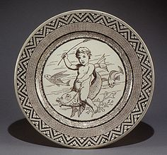 19th C. Plate by Josiah Wedgwood and Sons -      Creamware