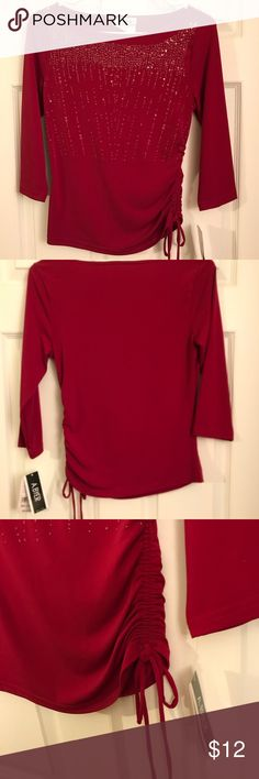 New with tags A. Byer 3/4 sleeved formal top Brand new with tags! Please see photos A.Byer Tops Blouses