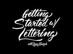 Lettering-talk - Ryan Hamrick