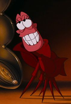 Sebastian the lobster - The Little Mermaide - Disney Movies - Classic - Childhood Memories