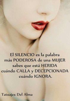 El silencio de una mujer*