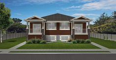 Bi-Level 4-Plex 950 sq. ft. per unit. Great curb appeal.
