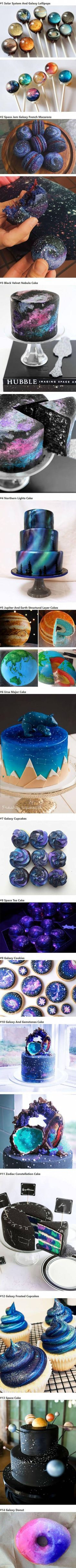 Galaxy Inspired Desserts And Sweets That Are Out Of This World