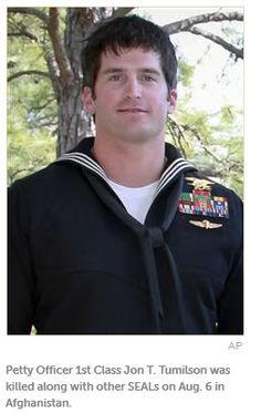 Gratitude and honor to Navy SEAL Jon T.