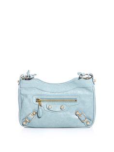 Balenciaga Messenger Bag in powder blue