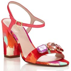 Kate Spade Imorana Sandals ($262) ❤ liked on Polyvore