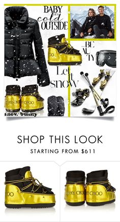 """let it snow"" by nata91 ❤ liked on Polyvore featuring Massimo Dutti, Chanel, Moon Boot, Harrods, women's clothing, women, female, woman, misses and juniors"