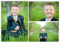 It's great to be 8 photoshoot:) (lds baptism photos) Baptism Pictures, Church Pictures, Newborn Pictures, Baptism Photography, Children Photography, Boy Baptism, Baptism Ideas, Baptism Announcement, Getting Baptized