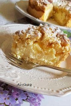 Falošný cheesecake s ovocím Apple Pie, Cheesecake, Fit, Basket, Shape, Cheesecakes, Apple Pie Cake, Cherry Cheesecake Shooters, Apple Pies
