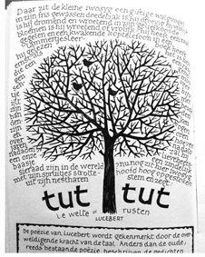 #sketchbook#tree#calligraphy#lettering#fineliner#pen#poem#Joke Boudens