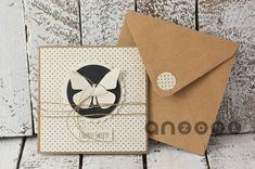 scrapbooking - kartki okolicznościowe-Kartka na chrzest motylek