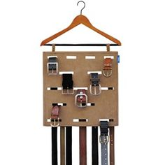 Hang-His Belt Organizer