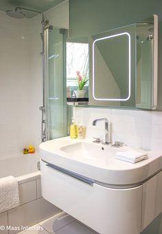Interior design by Maas Interiors Lymington by Suzy Maas, Interior Designer, Hampshire. Bathroom, updated renewed and refreshed interiors