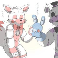 Ft Foxy, I think you should stop... ✏️CREDIT: @akikaze on Twitter✏️ #FuntimeFoxy#FuntimeFreddy#BonBon#Fnaf#FnafSl 5 Anime, Anime Fnaf, Freddy S, Anime Sisters, Fnaf 5, Fisher, Fnaf Wallpapers, Funtime Foxy, Fnaf Sister Location