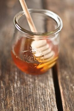 Honey in Weck || oh, honey honey. by hannah * honey & jam, via Flickr