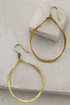 Klaudie Hoops by Amira Jewelry $58.00 - anthropologie.com