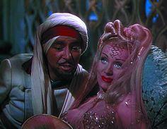 Ronald Coleman and Marlene Dietrich in ''Kismet''  1944