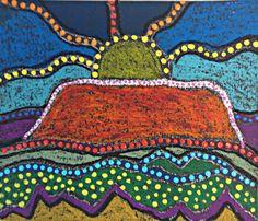 Resultado de imagen para aboriginal art projects for naidoc week Aboriginal Art For Kids, Camping Art, Aboriginal Dot Art, Australian Art, Landscape Art Lessons, Culture Art, Art