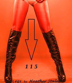 trendy musthave for autumn/winter 2013/14 original black lightly overknee boots...present my legs wonderful;-)))