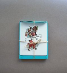 Announcement 'Movin On' Card Stationary by wildabouttags on Etsy, $5.00