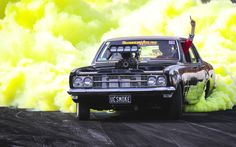 Violet Things violet color of iodine vapour Australian Muscle Cars, Aussie Muscle Cars, Car Memes, Car Humor, Holden Muscle Cars, Holden Commodore, Car Painting, Car Photography, My Ride