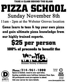 Pizza School at Dewey's Pizza! - Syndical - http://syndical.com/blog/pizza-school-at-deweys-pizza-syndical/