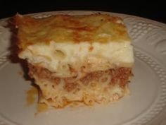 Authentic Greek Recipes: Greek Pastichio
