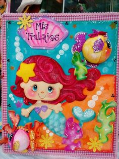 Foam Crafts, Diy And Crafts, Crafts For Kids, Arts And Crafts, Paper Crafts, Painting Sheets, Love Scrapbook, Felt Fairy, Decorate Notebook