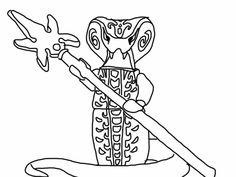 Ausmalbilder Ninjago Pythor